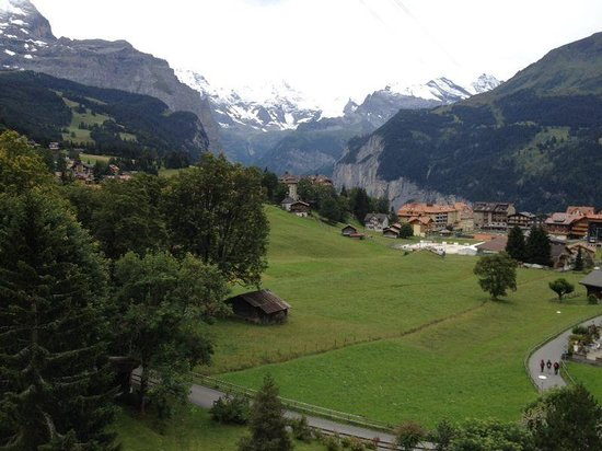 Beausite Park Hotel: view from the hotel