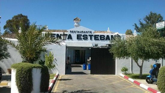 Parte posterior de Venta Esteban. Jerez de la Frontera.