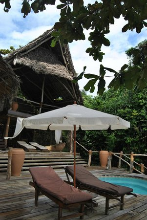 Fundu Lagoon: Superior suite with second terrace