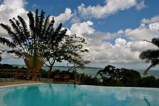 Fundu Lagoon: Pool bar