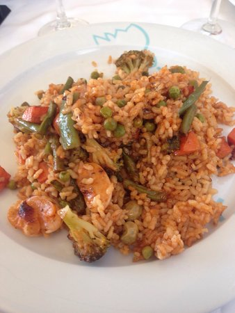 La Gavina: Vegetarian paella