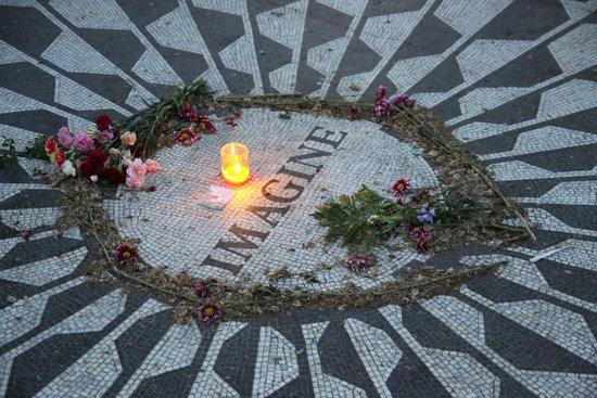 Central Park: Strawberryfield. Memorial John Lennon