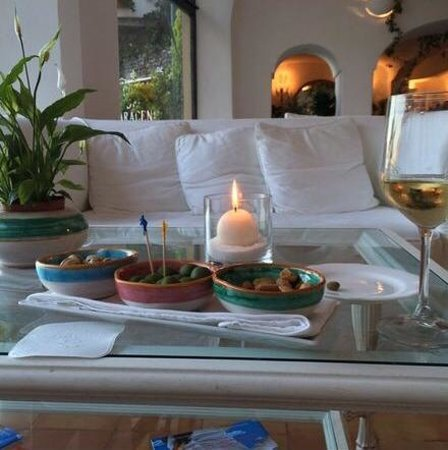 Covo Dei Saraceni: Covo Lounge Seating