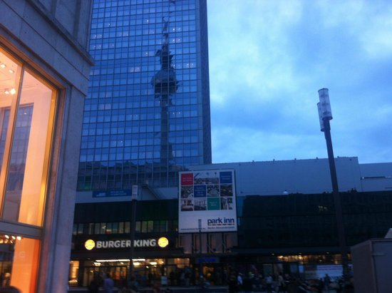 Park Inn by Radisson Berlin Alexanderplatz: Big hotel tower