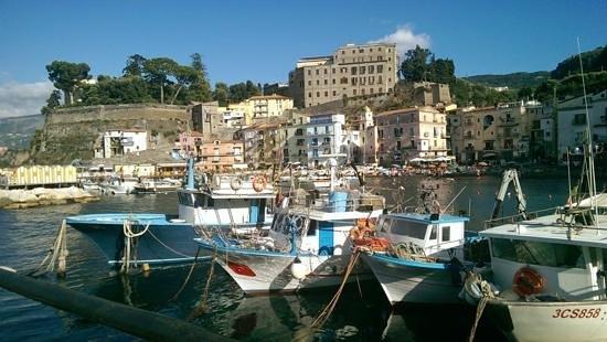 Hotel del Mare: Pretty Marina Grande