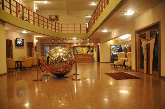 Lubumbashi, Democratic Republic of the Congo: Hotel Lobby