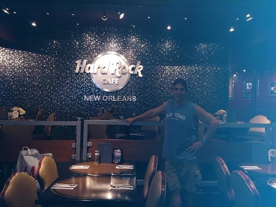 Hard Rock Cafe: Alex at the Hard Rock on Bourbon Street, New Orleans