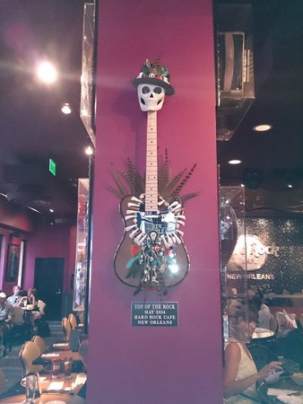 Hard Rock Cafe: Looking sharp