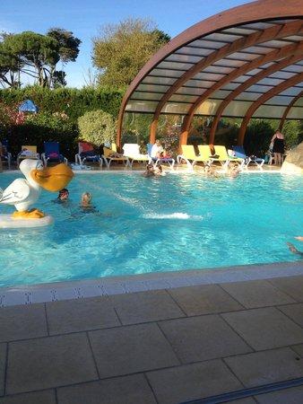 La Grainetiere Camping : pool