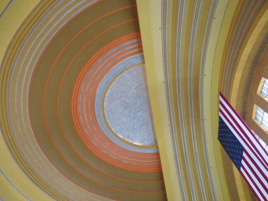 Cincinnati Museum Center: Entrance Dome