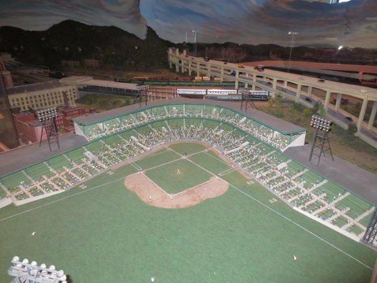 Cincinnati Museum Center: Old Ballpark Model