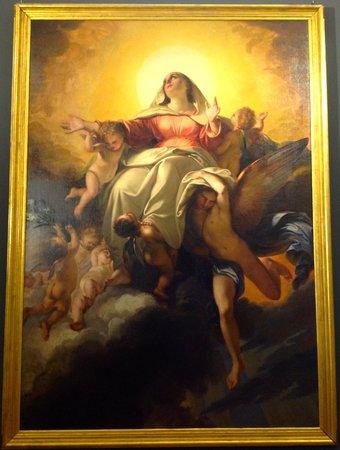 Museo dell'Opera di Santa Croce : Giuseppe Bezzuoli [C19th] The Assumption of the Virgin