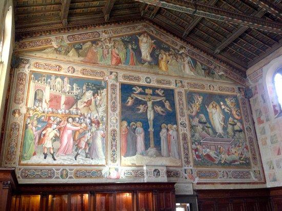 Museo dell'Opera di Santa Croce : Refectory Mural 1