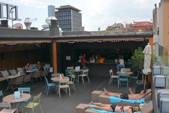 Gallery Hotel : Rooftop bar