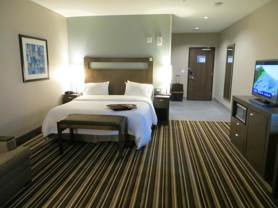 Hampton Inn & Suites Denver Downtown-Convention Center : comfy bed