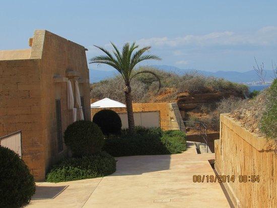 Cap Rocat: Views