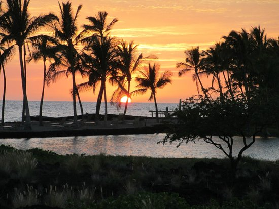 Waikoloa Beach Marriott Resort & Spa : Amazing A Beach sunset