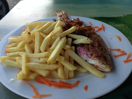 Sky's the Limit: Red Snapper with French Fries