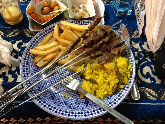 Chez Rachid: Great dish taste good!