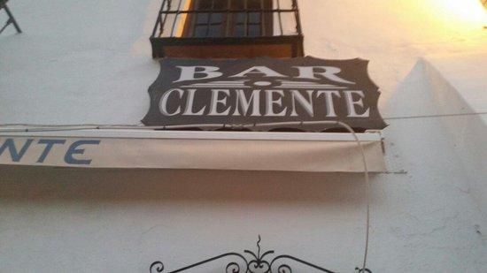 Bar Casa Clemente: Here it is@