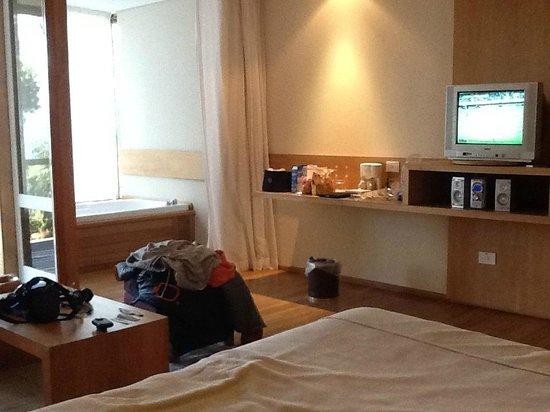 Design Suites Bariloche: Jacuzzi y mini estar