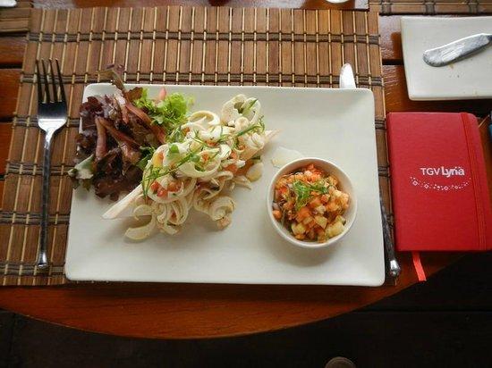 The Residence Mauritius : La fameuse salade du millionnaire !
