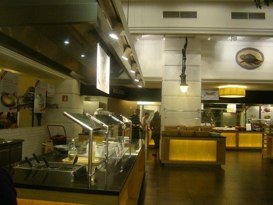 Rosenberger First: Interior do restaurante