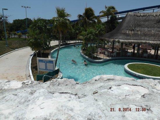 Wet'n Wild Cancun : rio lento