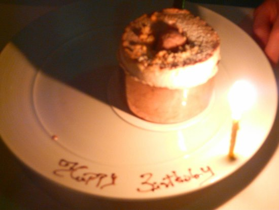 ARIA Restaurant : The candlelit souffle