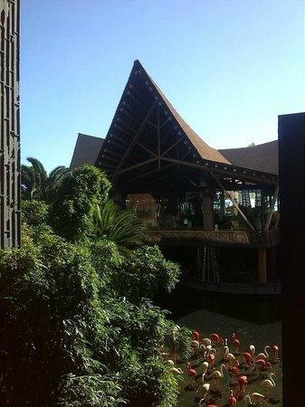 Lopesan Baobab Resort : entrada