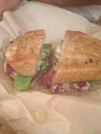 Leoda's Kitchen and Pie Shop: Ahi tuna sandwich - so yummy