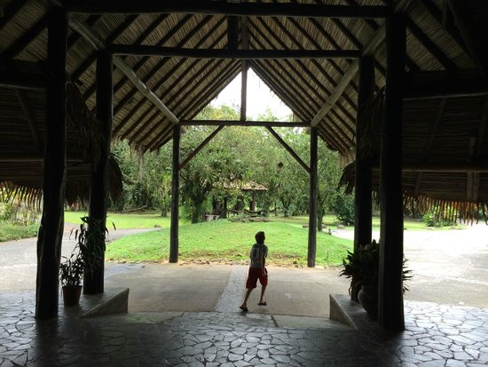 Sarapiquis Rainforest Lodge : Front entry - August 2014