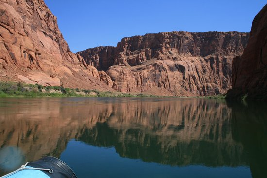 Papillon Grand Canyon Helicopters: About halfway into our raft trip