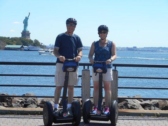 Bike and Roll NYC : Bike and Roll Segway tour.