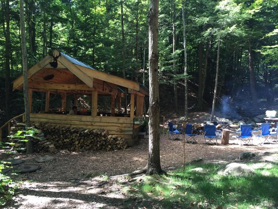 Orenda: Communal area and the fire that burns all day!