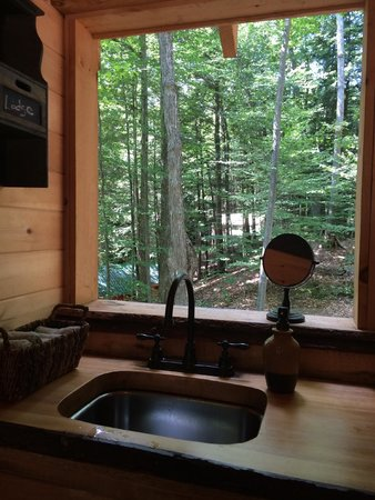 Orenda: View from the sink in the bathroom!