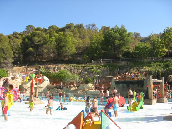 Aqualandia: piscinas