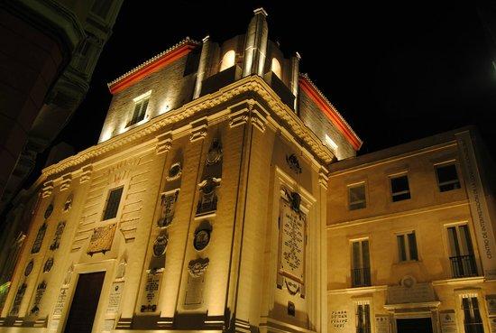 Oratorio de San Felipe Neri : Noche en el oratorio