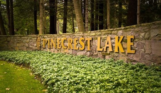 Pinecrest Lake Golf & Country Club: Entrance