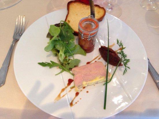 Auberge du Pecheur : Foie gras