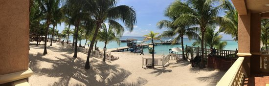 Infinity Bay Spa and Beach Resort: View from the suite privite deck