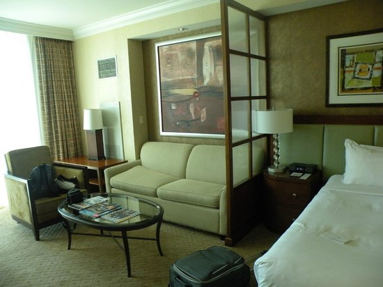MGM Grand Hotel and Casino : Sofá cama