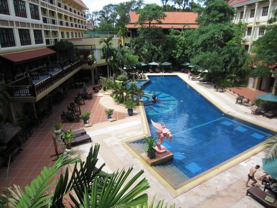 Prince D'Angkor Hotel & Spa : View from our room
