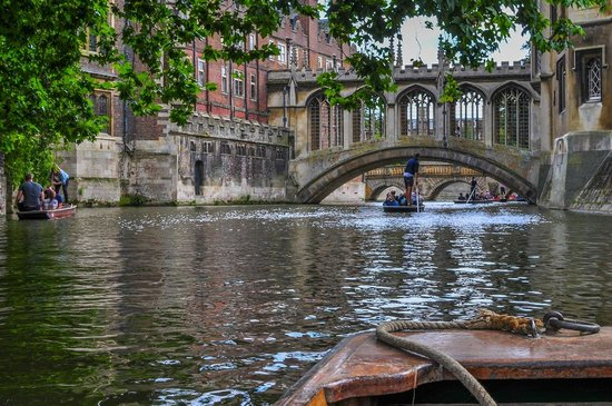 The River Cam: The wonderful Cambridge University