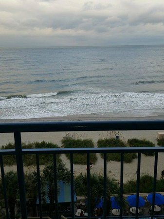 Coral Beach Resort & Suites: My view from the balcony