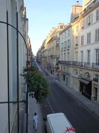 Bourgogne et Montana Hotel by MH: View from our room.