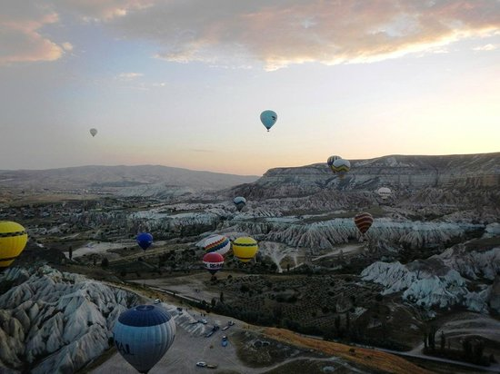 Royal Balloon: Balloons at sunrise