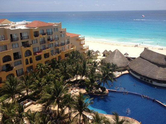 Fiesta Americana Condesa Cancun All Inclusive: vista de balcón