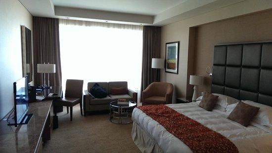 Al Ghurair Hotel: vue d'emble de la chambre