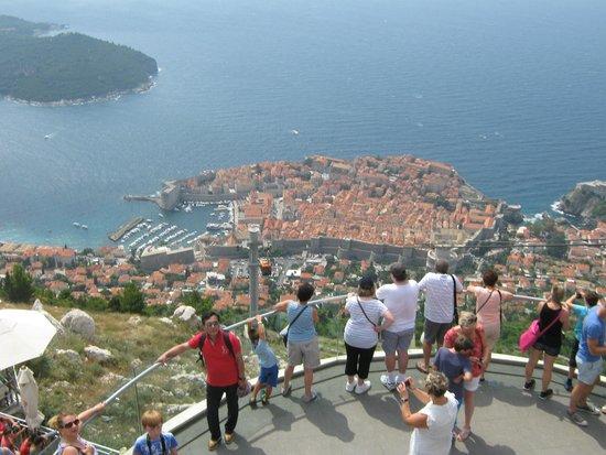 Teleférico de Dubronik: Dubrovnik Old Town from view platform